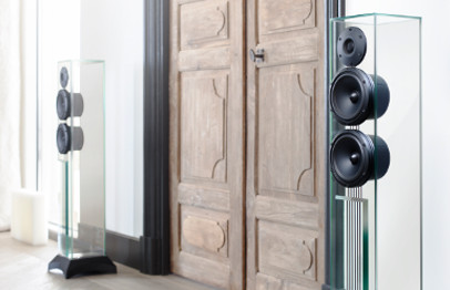 Waterfall Victoria Evo Glass Speakers West Vancouver
