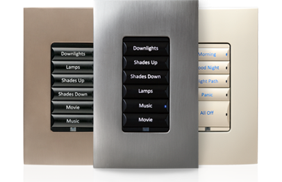 Control4 Lighting Keypads and Dimmers