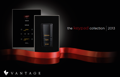Vantage Controls Keypad Collection Lighting Control